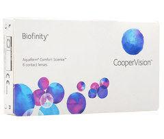 Контактные линзы Контактные линзы Cooper Vision Biofinity