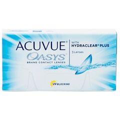 Контактные линзы Acuvue OASYS with Hydraclear Plus (3 линзы)