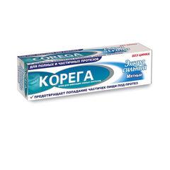 Корега Крем для фиксации зубных протезов Экстра Сильный мятный 70г