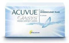 Контактные линзы Контактные линзы Johnson&Johnson Acuvue Oasys with Hydraclear Plus