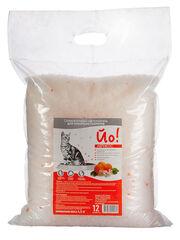 Кошкина полянка Наполнитель силикагелевый впитывающий с ароматом абрикоса (8 л)