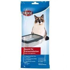 Trixie Пакеты сменные для кошачьих туалетов 46*59/10шт