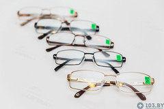 Очки Очки Касияна Очки корригирующие в металлической оправах