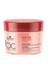 Schwarzkopf Professional Маска для волос Peptide Repair Rescue (TREATMENT For fine to normal damaged hair), 200 мл