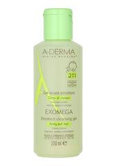A-Derma Гель смягчающий очищающий 2-в-1 для сухой кожи EХOMEGA CONTROL 200 мл