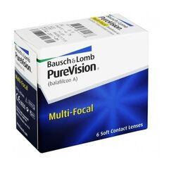 Контактные линзы Контактные линзы Bausch+Lomb PureVision Multi-focal (6 линз)