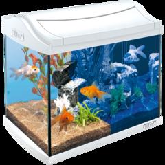 Tetra Аквариум AquaArt LED Goldfish 20 л белый