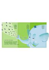 Nature Republic Набор для сужения и очищения пор носа BLACKHEAD CLEAR 3-STEP NOSE PACK(7EA)