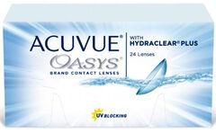 Контактные линзы Johnson&Johnson ACUVUE OASYS with HYDRACLEAR Plus Непрерывное ношение