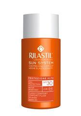 Rilastil Флюид комфорт SPF 30 для чувствительной кожи с pro-DNA complex SUN SYSTEM, 50 мл