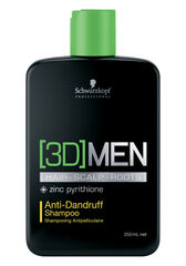 Schwarzkopf Professional Шампунь против перхоти для мужчин ANTI-DANDRUFF SHAMPOO серии [3D MEN], 250 мл