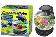 Tetra Аквариум Cascade Globe Glas 6.8 л черный
