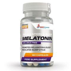 WestPharm Melatonin 60 капс. по 10 мг.