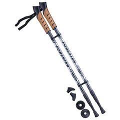 Палки для скандинавской ходьбы Berger Forester 67-135 black/grey