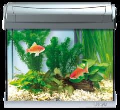 Tetra Аквариум AquaArt LED Goldfish 20 л антрацитовый