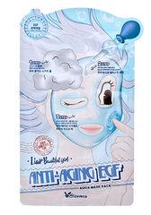 Elizavecca Маска на тканевой основе для лица антивозрастная 3-шаговая ANTI AGING EGF AQUA MASK PACK 25мл/2*2мл