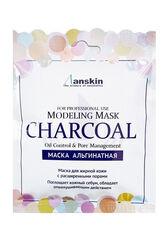 Anskin Маска альгинатная для кожи с расшириренными порами Charcoal Modeling Mask / Refill (саше) 25гр