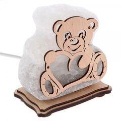 """Saltlamp Соляной светильник """"Мишка с сердечком"""""""