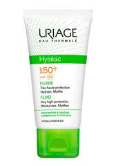 Uriage Эмульсия солнцезащитная SPF 50+ ИСЕАК / HYSEAC SPF50+ FLUIDE 50мл