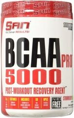 San BCAA-PRO 5000 340 Г FRUIT PUNCH / ICY FROST ASPARTAME FREE