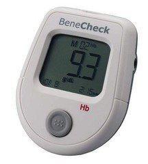 Система контроля крови General Life Biotechnology Контроль уровня Гемоглобина BeneCheck Hb