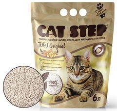 Cat Step Наполнитель Tofu Original (6 л)