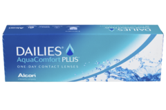 Контактные линзы Alcon Dailies Aqua Comfort Plus ГИДРОГЕЛЕВЫЕ НА 1 ДЕНЬ