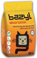 Кошкина полянка Бентонитовый наполнитель для кошачьего туалета комкующийся «Эконом» (5.3 л)