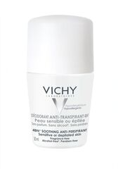 Vichy Дезодорант-шарик 48ч для чувствительной кожи 50 мл