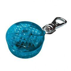 Ошейник и поводок Trixie Брелок-маячок, пластик (синий)