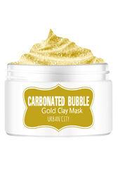Baviphat Маска для лица глиняно-пузырьковая с золотом Urban City Carbonated Bubble Gold Mask 100мл