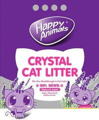 Happy Animals Наполнитель из силикагеля с запахом лаванды 3.8 л