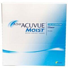 Контактные линзы Контактные линзы Acuvue 1-Day Moist for Astigmatism (90 линз)