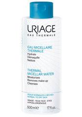 Uriage Вода мицеллярная очищающая для нормальной и сухой кожи лица и контура глаз EAU MICELLAIRE THERMALE PEAUX MIXTES A GRASSES 500 мл