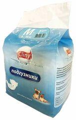 Cliny Подгузники для собак и кошек (размер М)