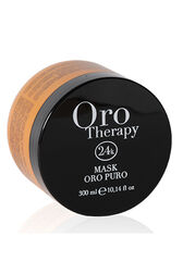 Fanola Маска для волос Oro Therapy 24k Oro Puro кератином аргановым масло микрочастичами золота 300 мл
