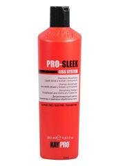 KayPro Шампунь дисциплинирующий для выпрямленных и химически обработанных волос PRO-SLEEK 350 мл