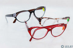Очки Очки Касияна Очки корригирующие в пластмассовой оправах