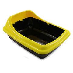 Triol Туалет для кошек прямоугольный с ассиметричным бортом 45.5х35.5х20