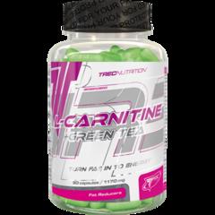 Trec Nutrition L-Carnitine+Green Tea 90 капс