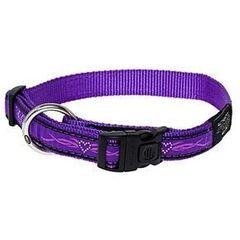 Ошейник и поводок Rogz Ошейник Fancy Dress Purple Chrome М (26-40 см)*16 мм