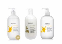 BABE Набор для детей (гель детский для душа, молочко детское увлажняющее для тела, детская очищающая мицелярная вода)