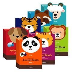 Berrissom Тканевые маски с животными Animal Mask Series