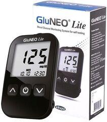Глюкометр Глюкометр Infopia Система контроля уровня глюкозы GluNEO Lite (IGM-1003) с тест-полосками и ланцетами