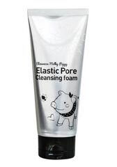 Elizavecca Пенка-маска для умывания ЧЕРНАЯ Milky Piggy Elastic Pore Cleansing Foam 120 мл