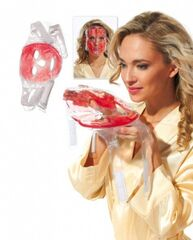 Bradex Маска гелевая для лица охлаждающе-согревающая Hot and Cold Pack for Face KZ 0299