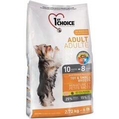 1ST CHOICE ToySmall Breed Adult Chicken 2,72 кг
