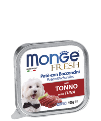 Monge Dog Fresh Tuna Pate 100гр.х 16 шт.