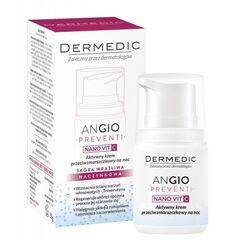 Dermedic ANGIO PREVENTI NANOVIT C активный ночной крем против морщин  55г