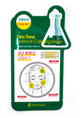 Mijin Маска тканевая чайное дерево Uniquleen Tea Tree Essence Calming Mask 26гр